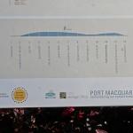 We sponsored a Heritage walk signage at Port Macquarie.
