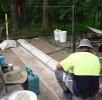 Fencing Restoration – during works