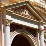 Ornamental render, mouldings duplication and repairs.