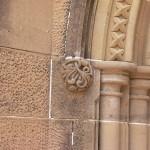 Existing original stone carving