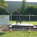 Les Darcy's Monument
