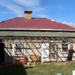 Plashett Homestead – BEFORE – Slate and Iron Roofing