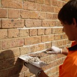 Re-pointing and Tuck pointing