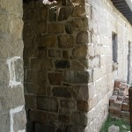 Stone repair finished.