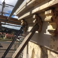 Figure 41_new corbel adhered to the reconstructed render
